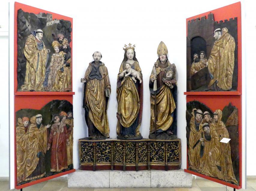 Altar aus St. Leonhard bei Freistadt, Um 1506 - 1509