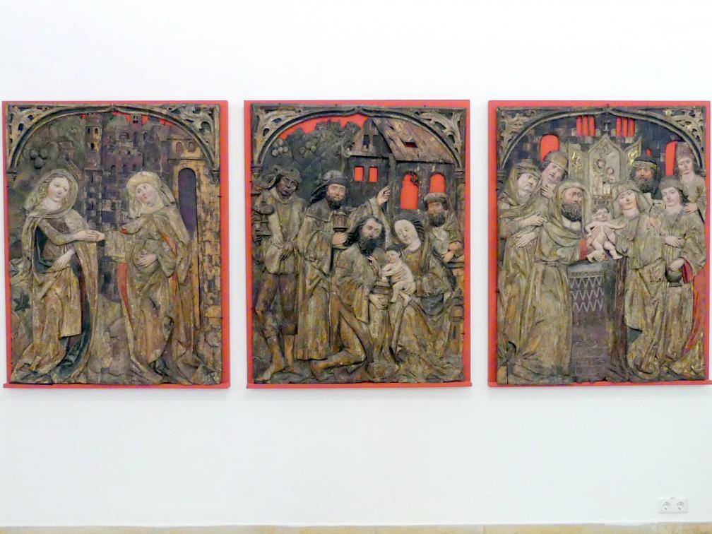 Heimsuchung, Darbringung im Tempel, Anbetung der Könige, 1503