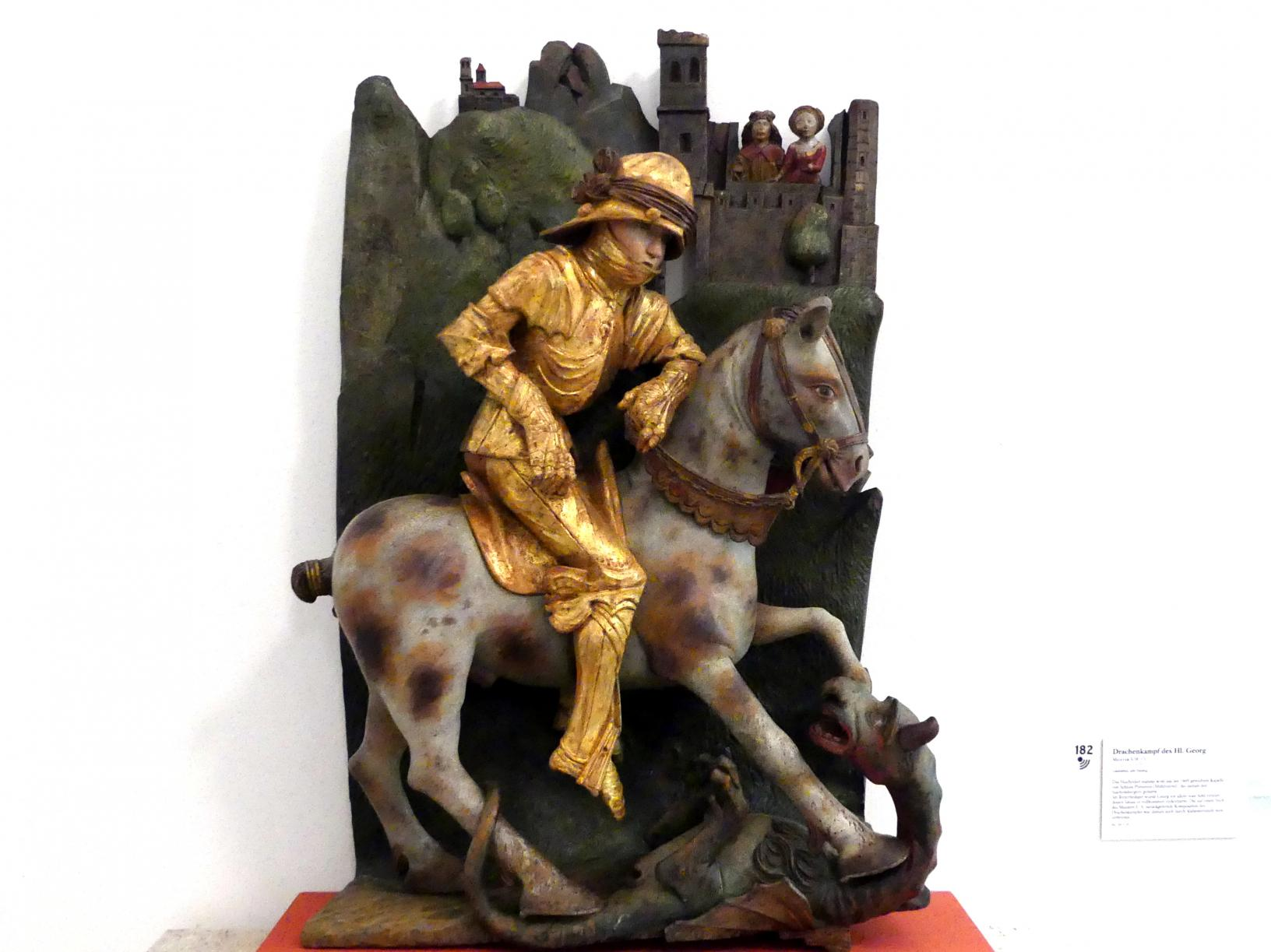 Drachenkampf des Hl. Georg, um 1499