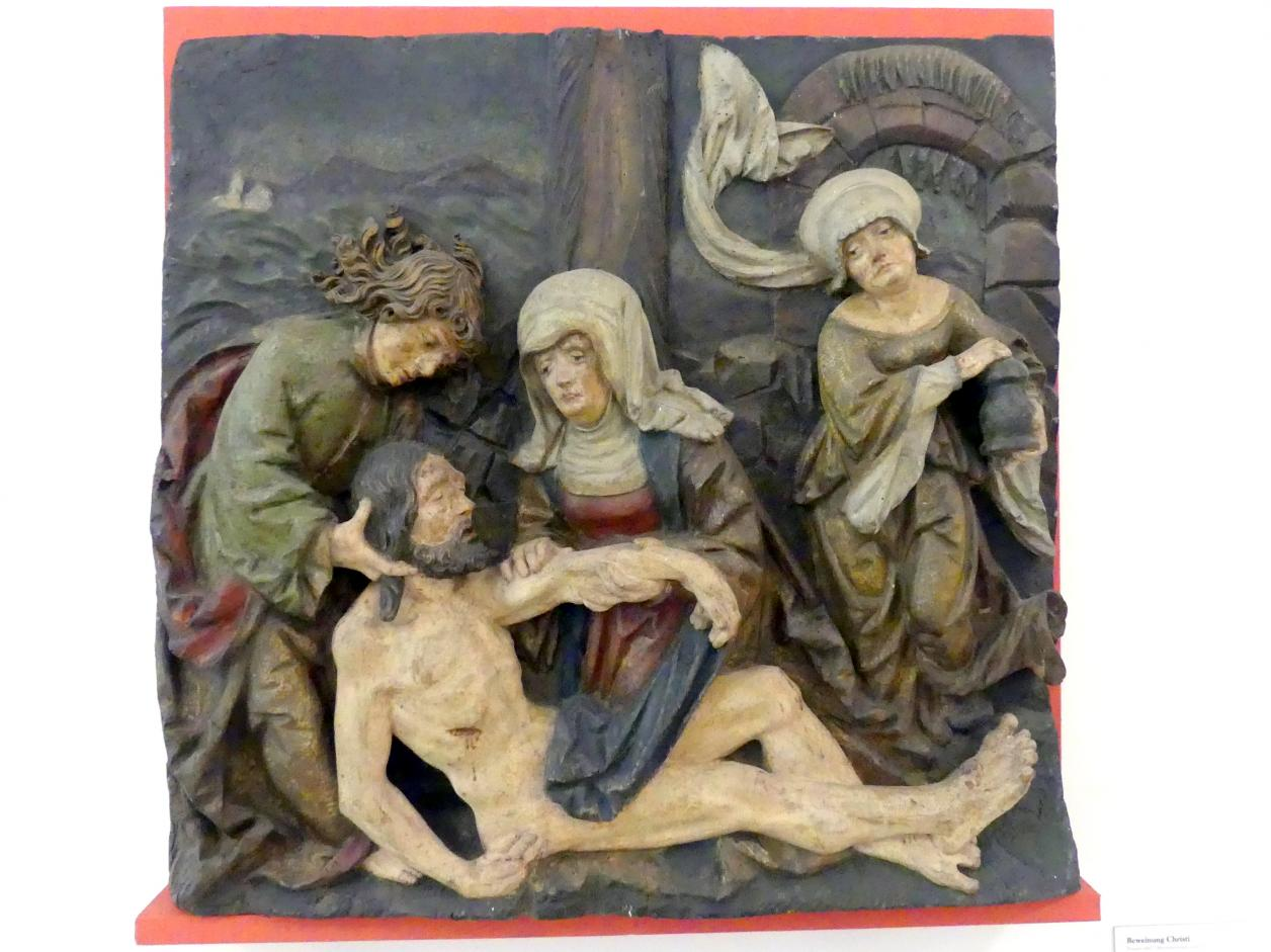 Beweinung Christi, Um 1515