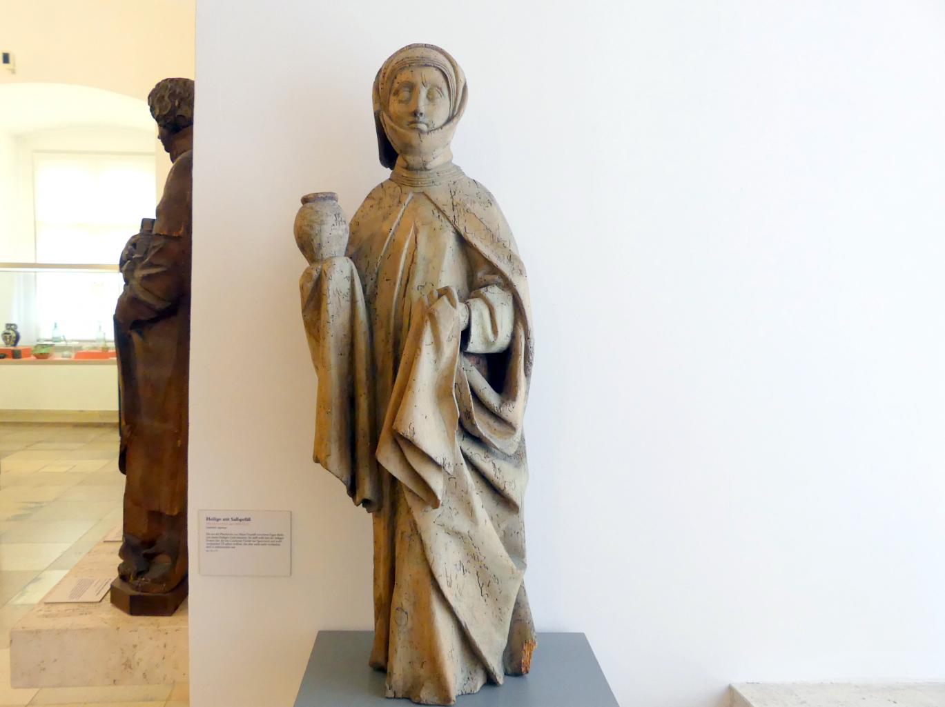 Heilige mit Salbgefäß, Um 1460 - 1470