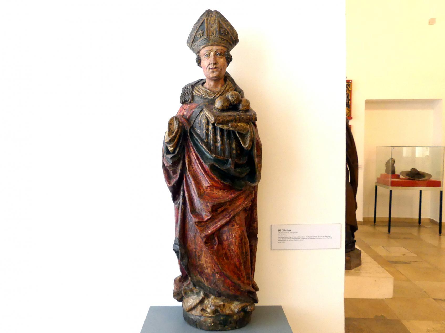 Hl. Nikolaus, um 1480 - 1490