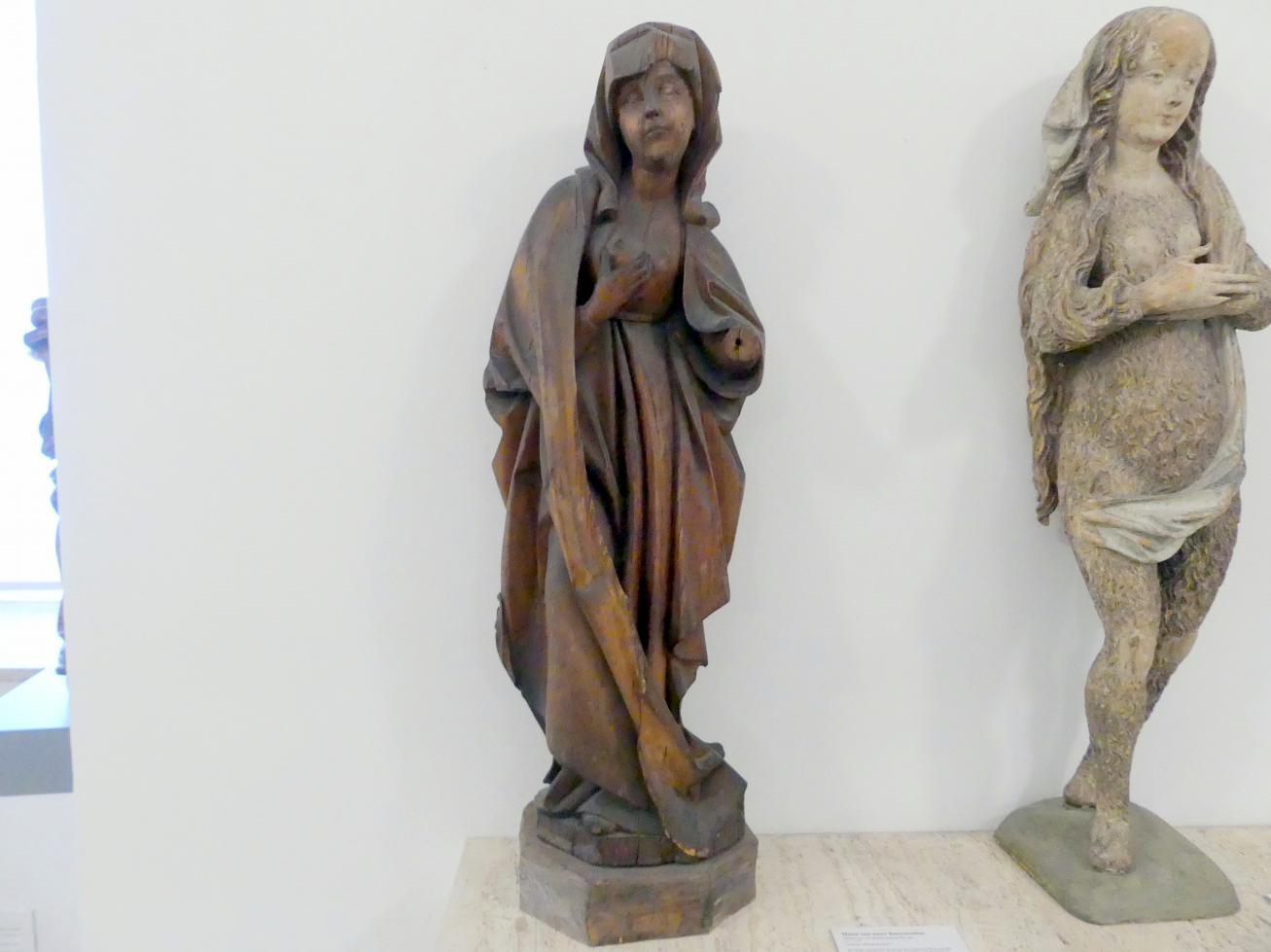 Maria von einer Interzession, um 1490