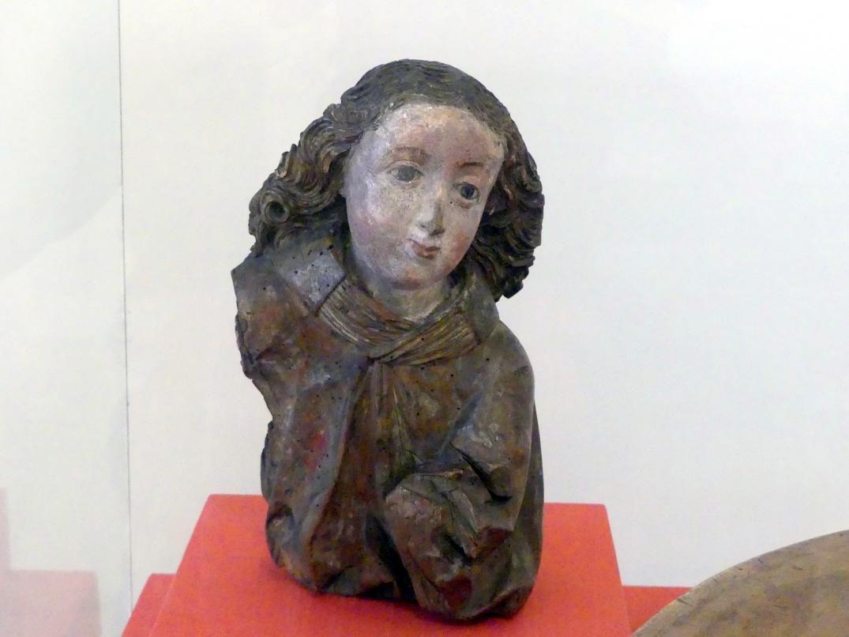Engel-Fragment, um 1490