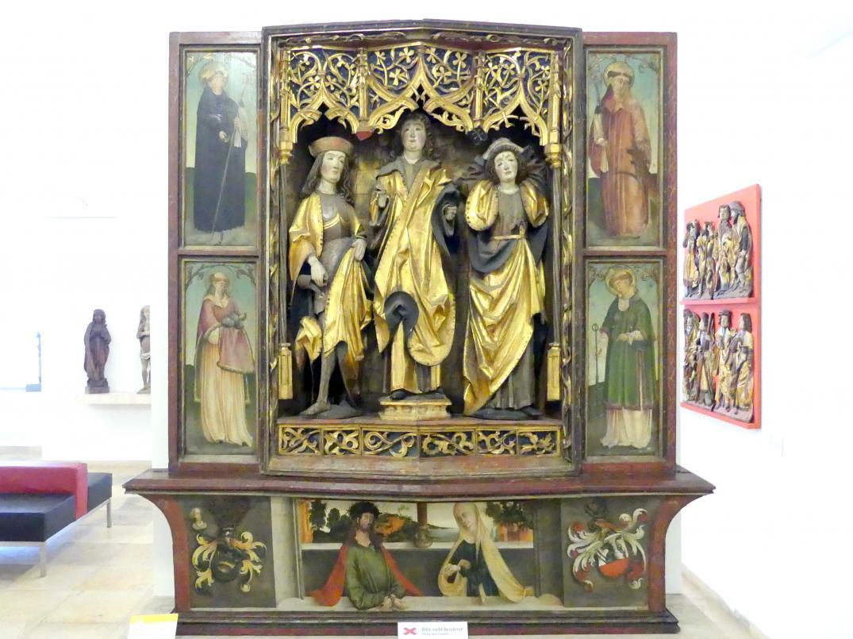 Sebastian Reinthaler: Flügelaltar, Vor 1513