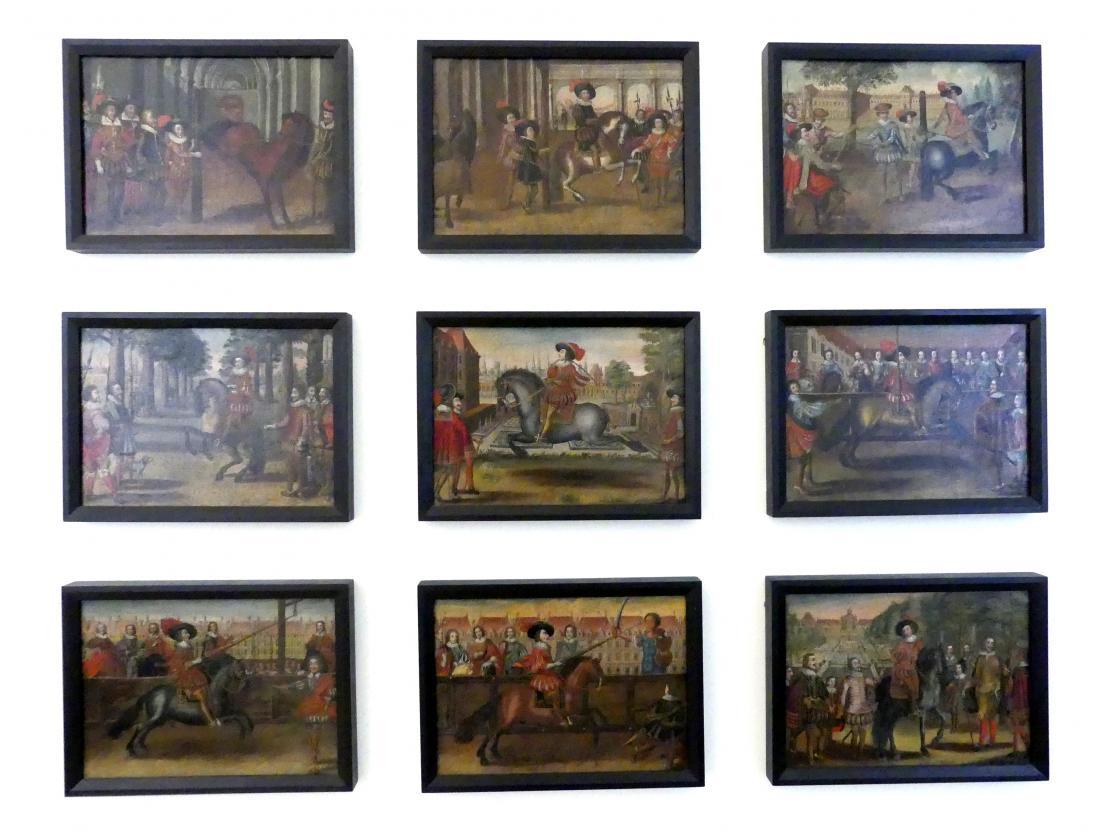 Reiterspiele, Um 1700