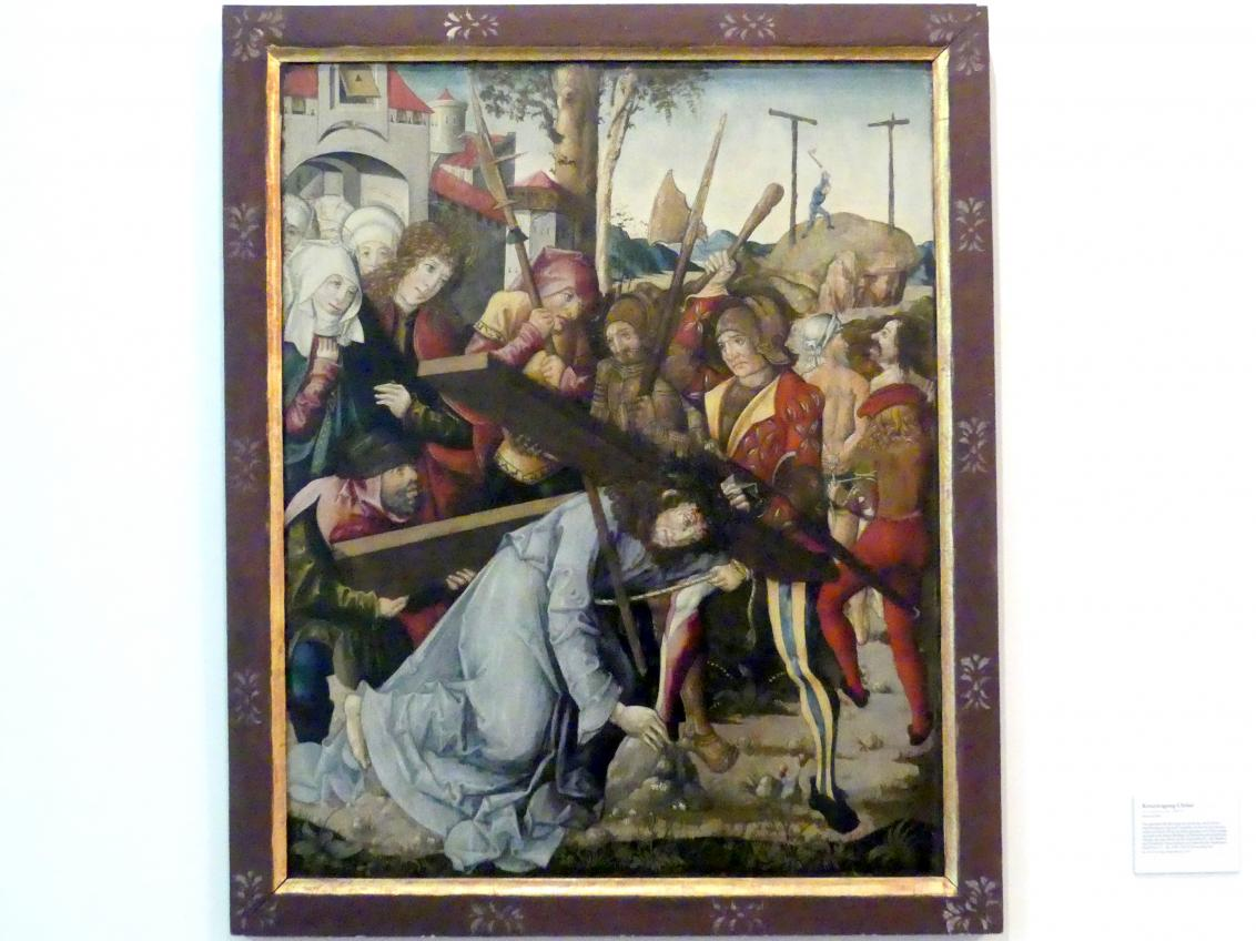 Kreuztragung Christi, Um 1500 - 1510