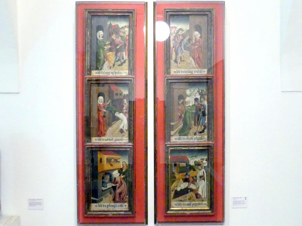 Werke der Barmherzigkeit, um 1485