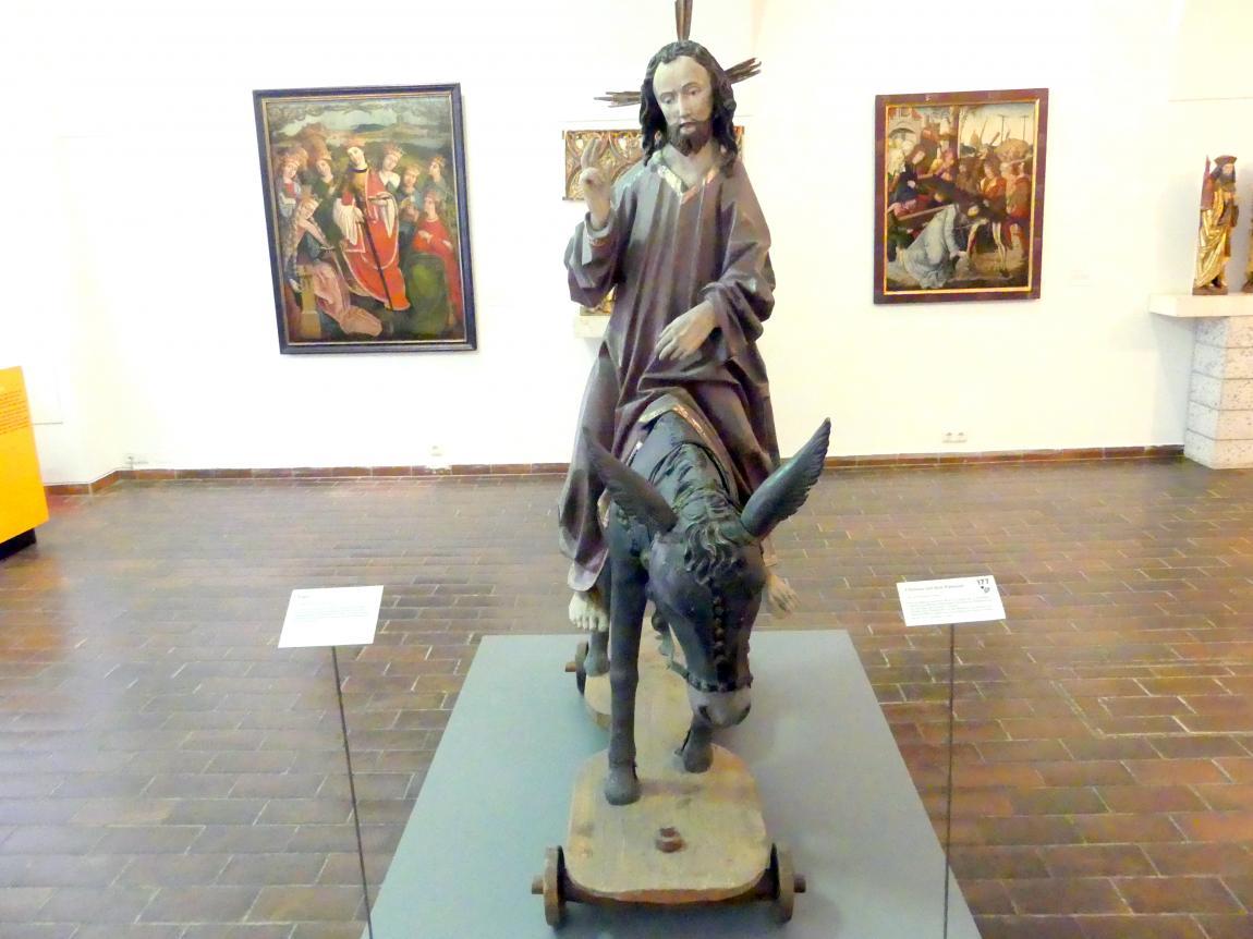 Christus auf dem Palmesel, um 1490