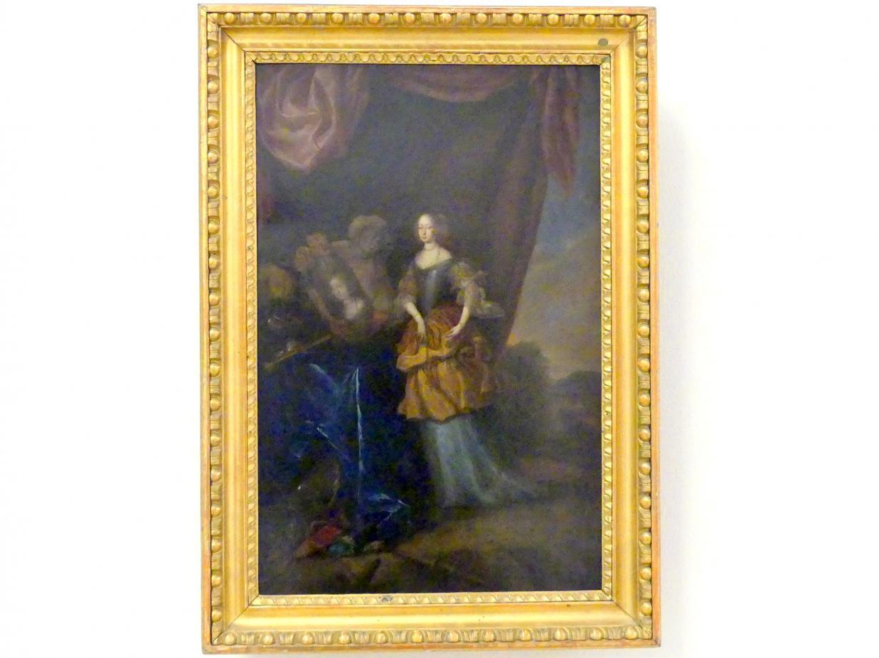 Freifrau von Schifer als Minerva, Um 1670