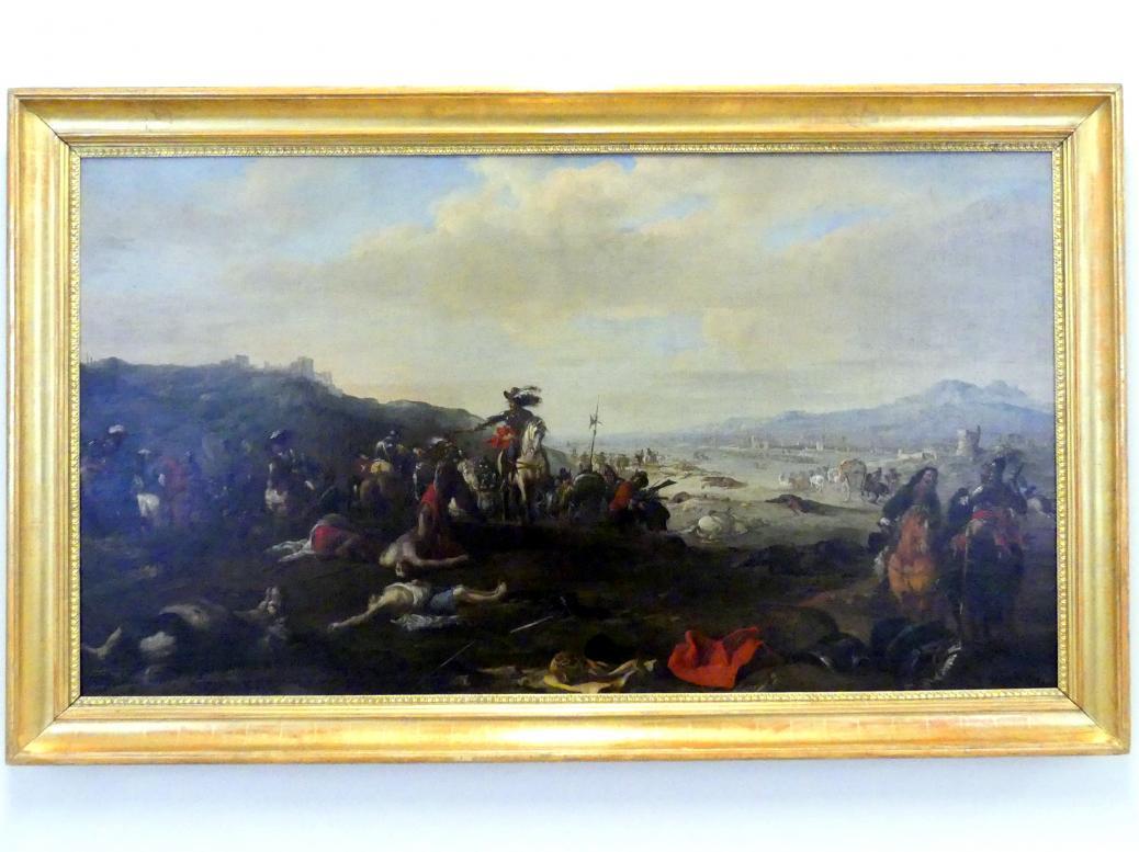 Jacques Courtois (Le Bourguignon): Ein Schlachtfeld im Dreißigjährigen Krieg, Undatiert