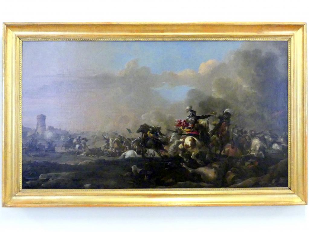 Jacques Courtois (Le Bourguignon): Eine Schlacht im Dreißigjährigen Krieg, Undatiert