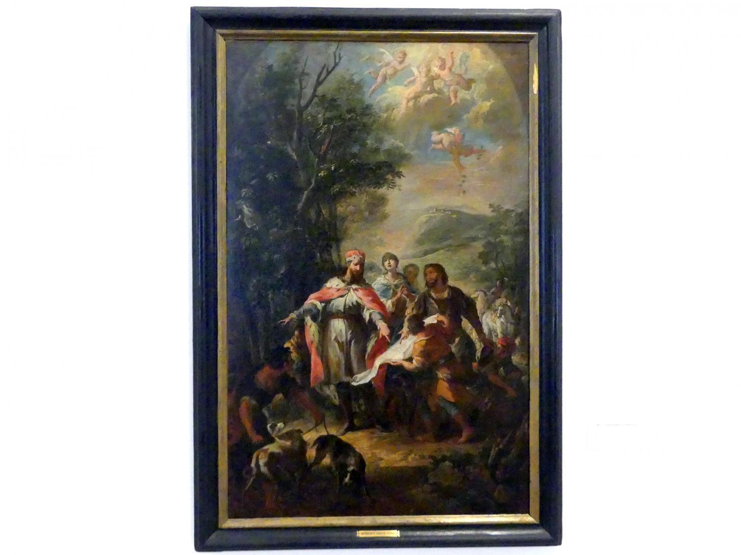 Martino Altomonte: Die Gründung Klosterneuburgs, vor 1736