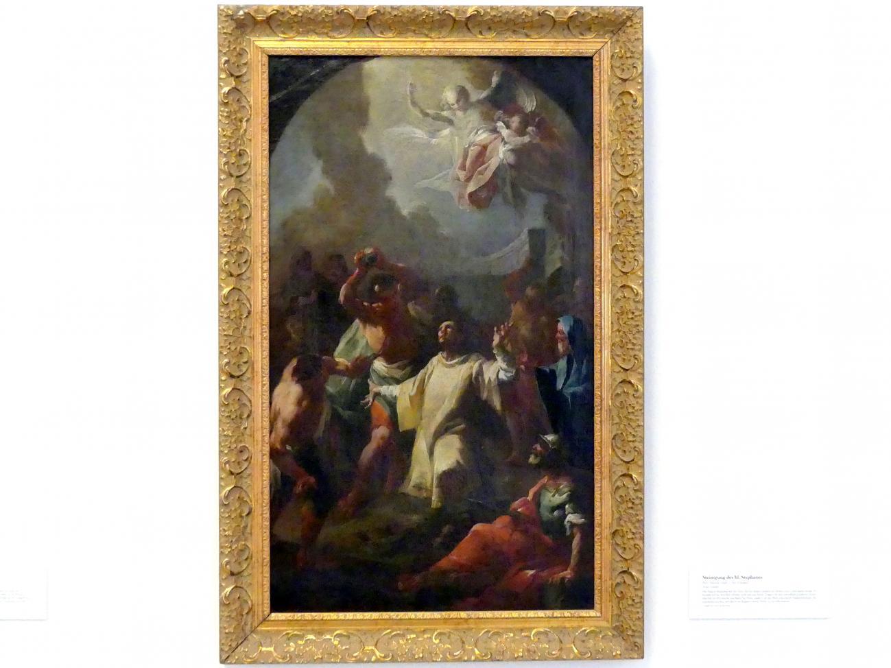 Paul Troger (Umkreis): Steinigung des hl. Stephanus, Undatiert