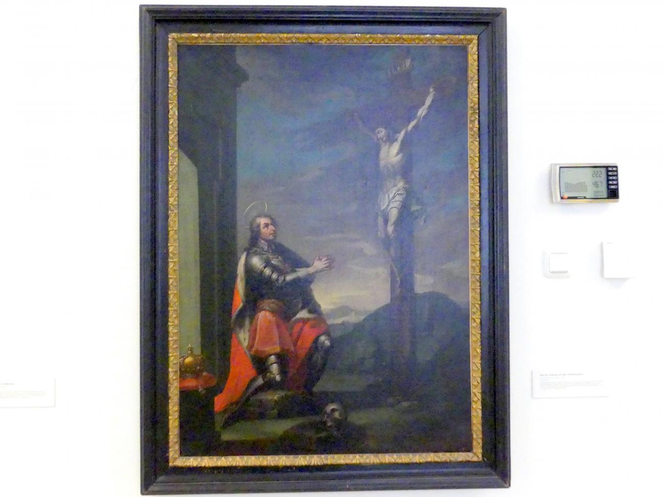 Martino Altomonte: Der hl. Ludwig vor dem Gekreuzigten, Undatiert