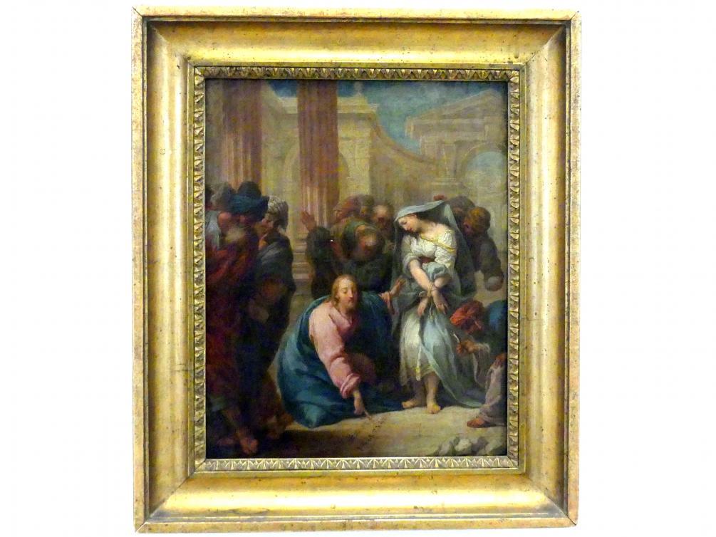 Gregorio Lazzarini: Christus und die Ehebrecherin, Undatiert