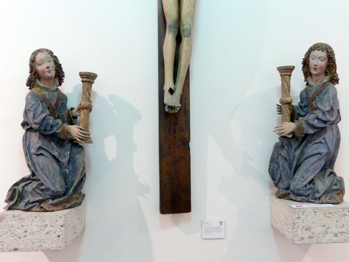 Leuchterengel, um 1480 - 1490