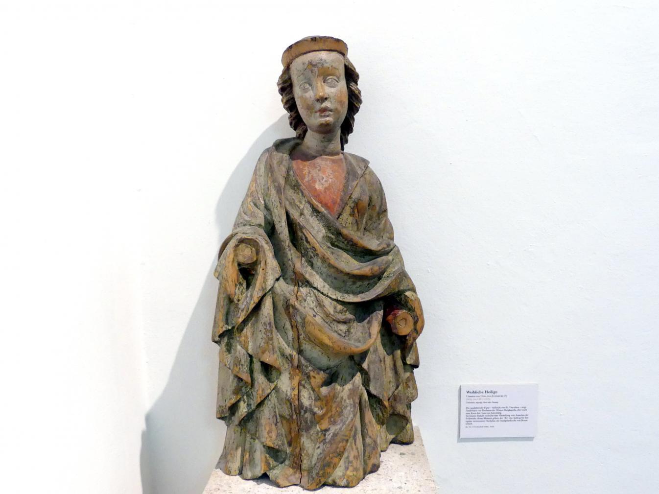 Hans von Judenburg (Umkreis): Weibliche Heilige, Undatiert