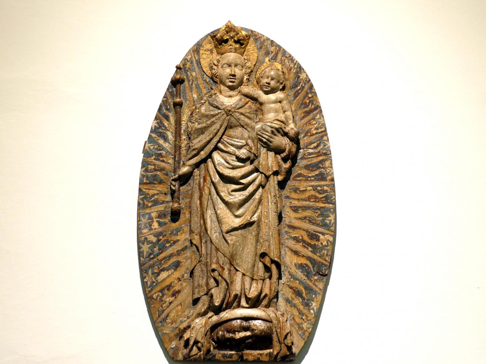 Madonna im Strahlenkranz, um 1420 - 1430