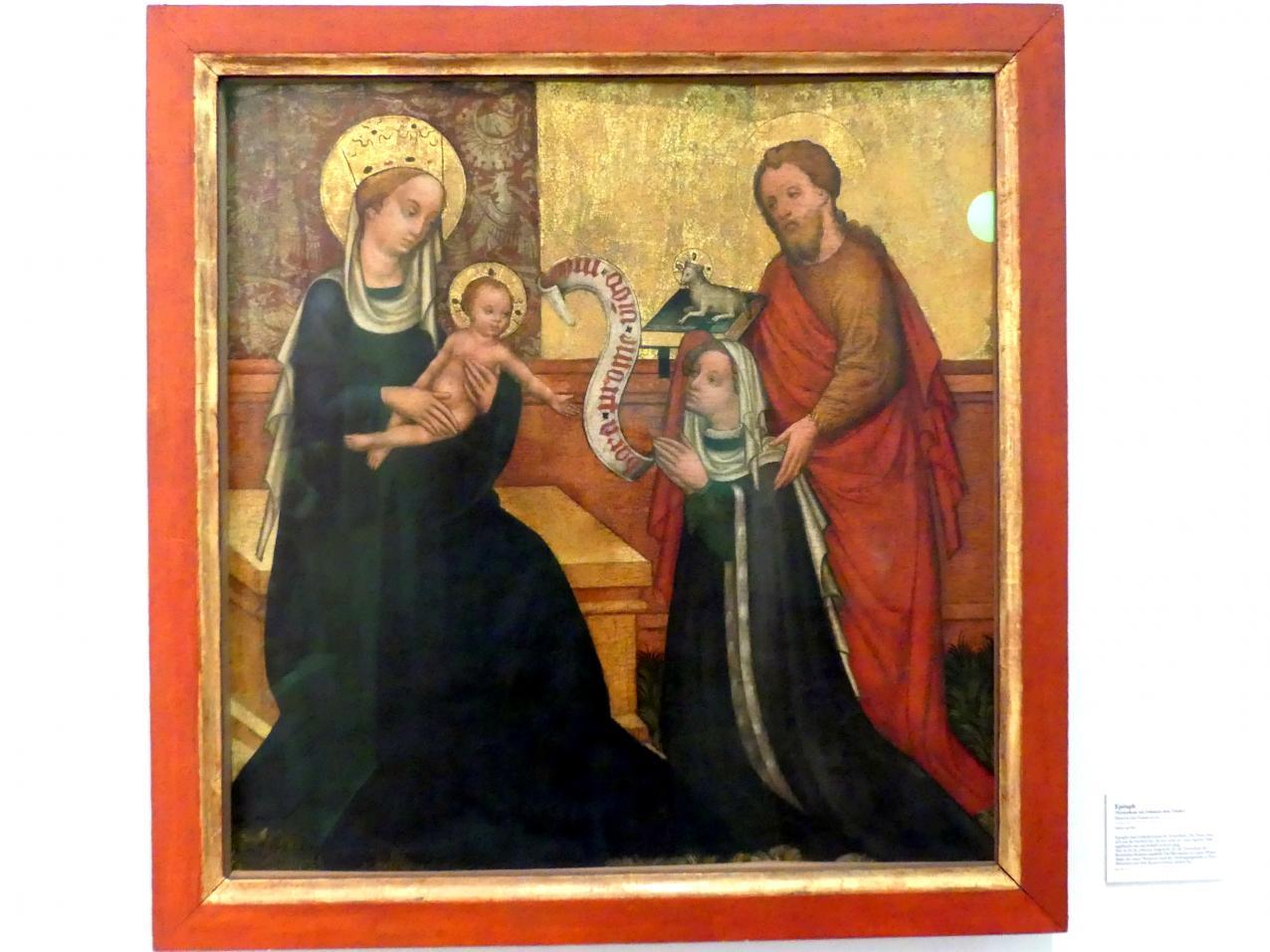 Meister der Darbringung: Epitaph, um 1420 - 1440