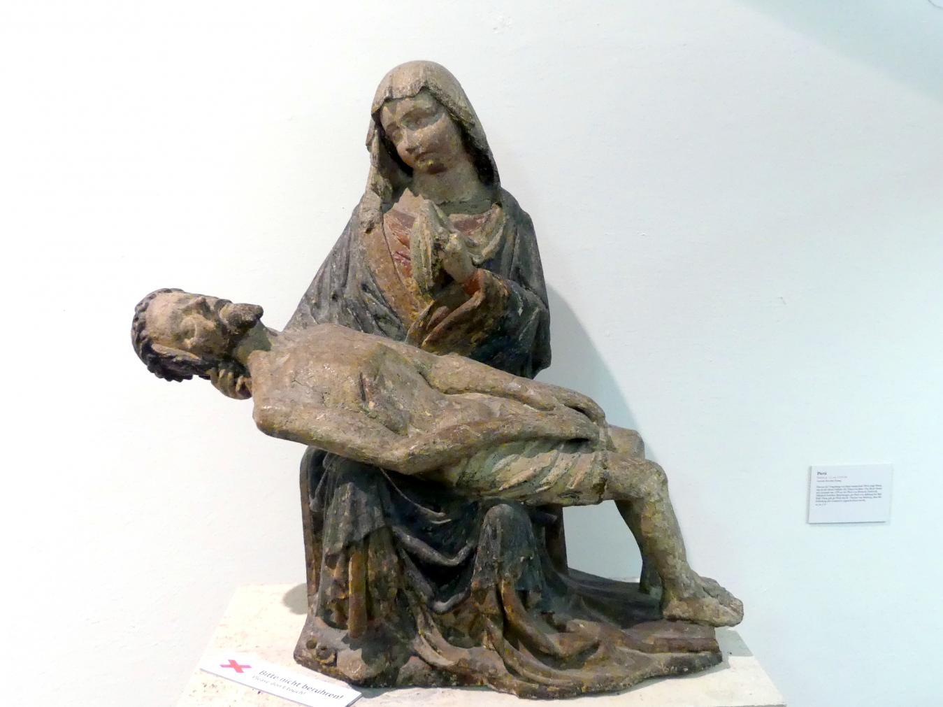 Pietà, um 1410 - 1420
