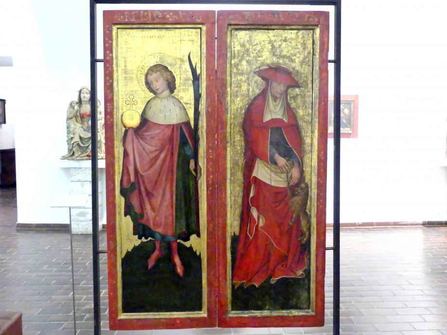 Meister des Friedrichsaltars: Hll. Wenzel und Hieronymus, um 1430 - 1450