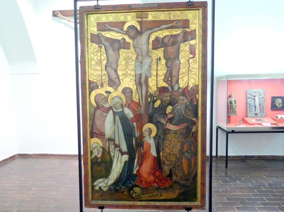 Kreuzigung, Mitte 15. Jhd.