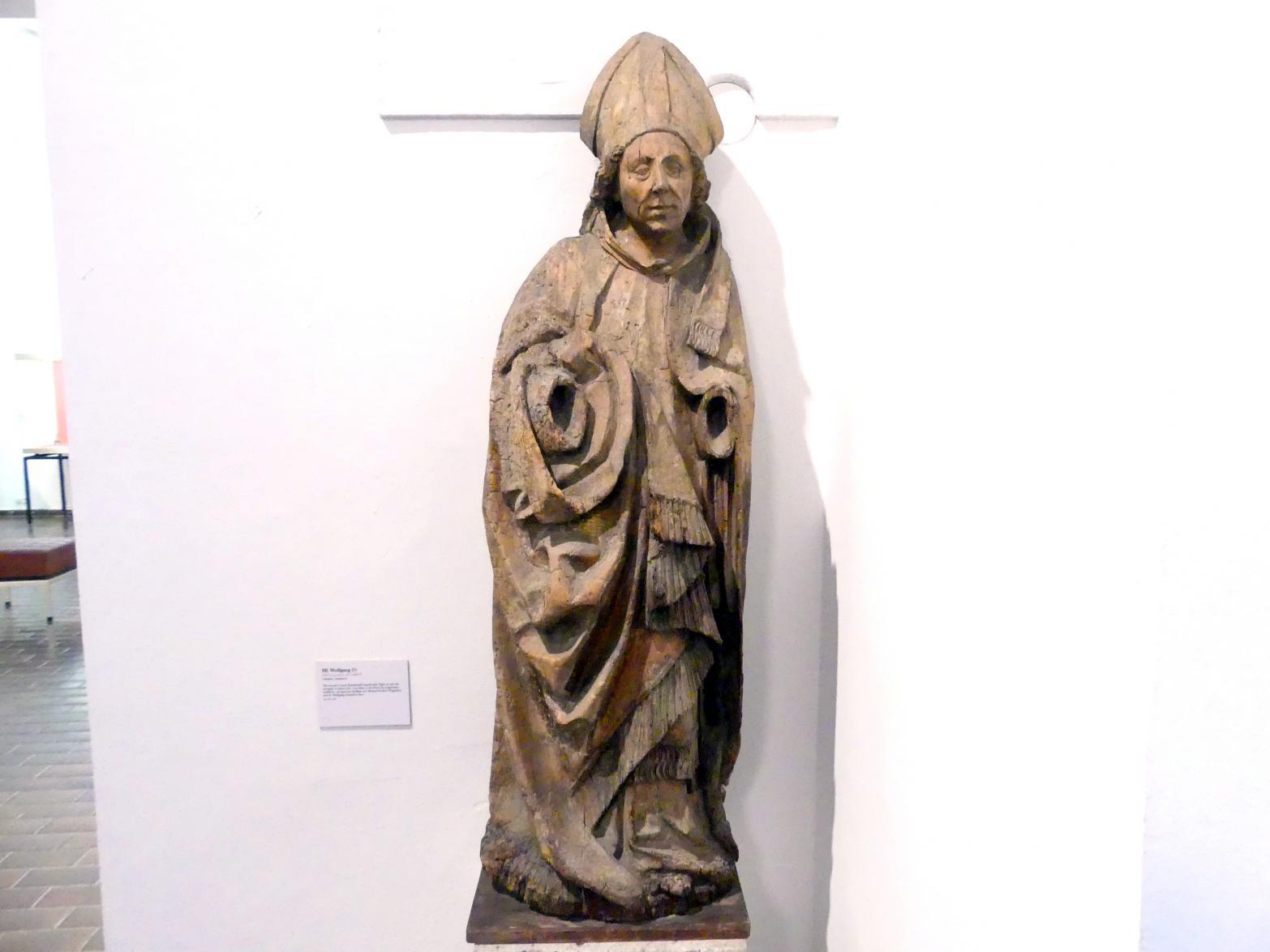Hl. Wolfgang (?), Um 1480 - 1490