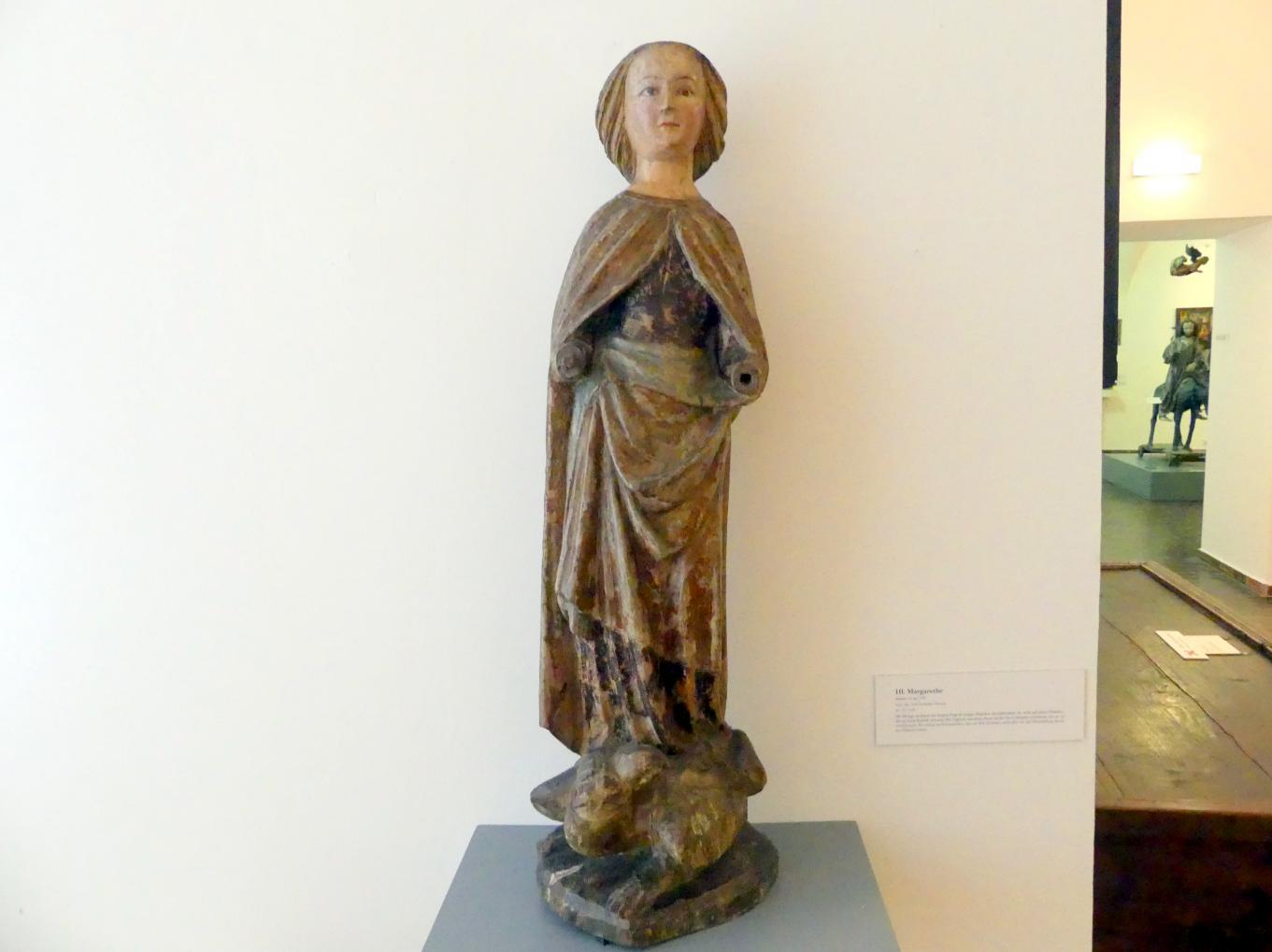 Hl. Margarethe, um 1380