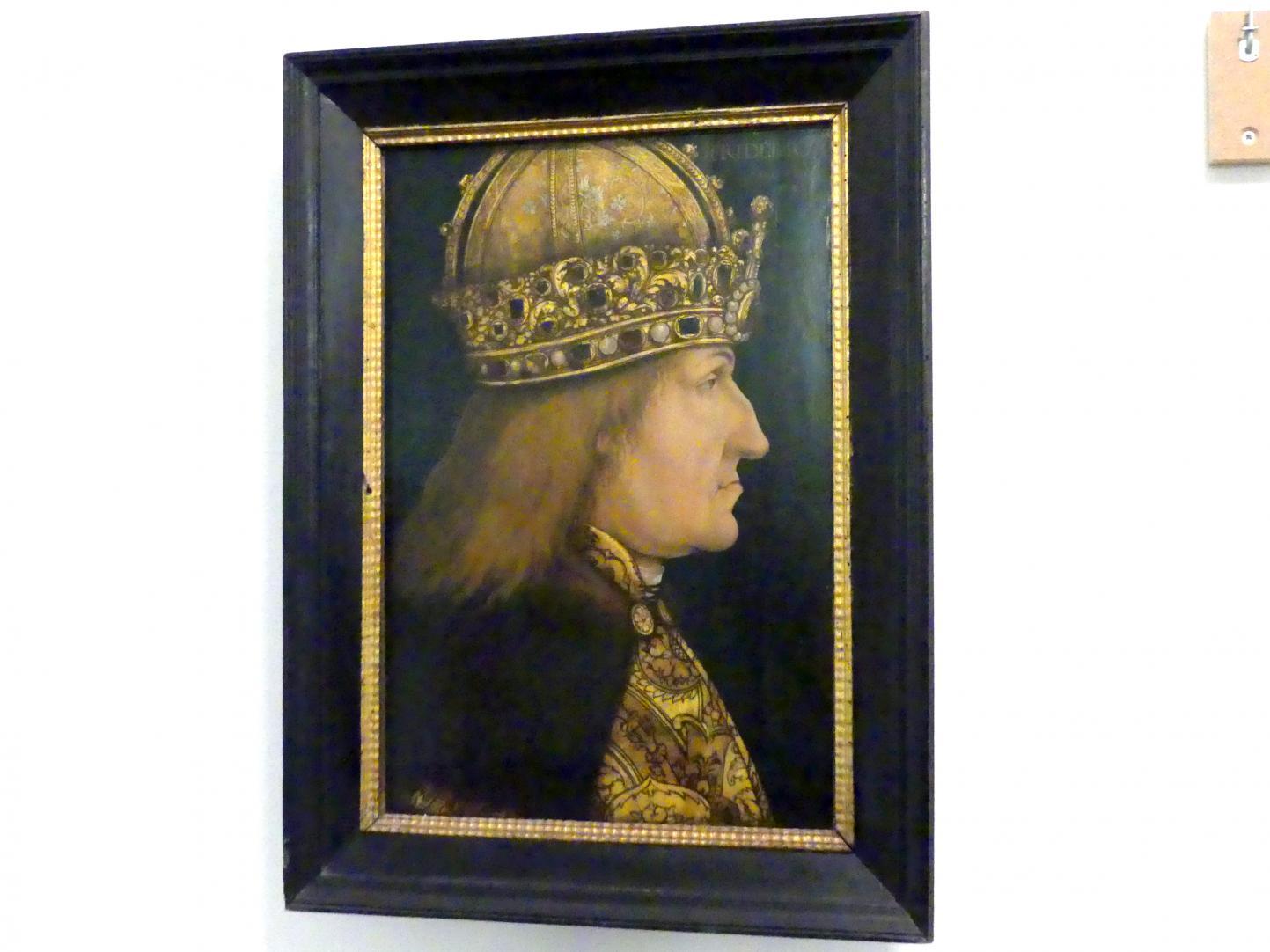 Hans Burgkmair der Ältere: Kaiser Friedrich III., Um 1510