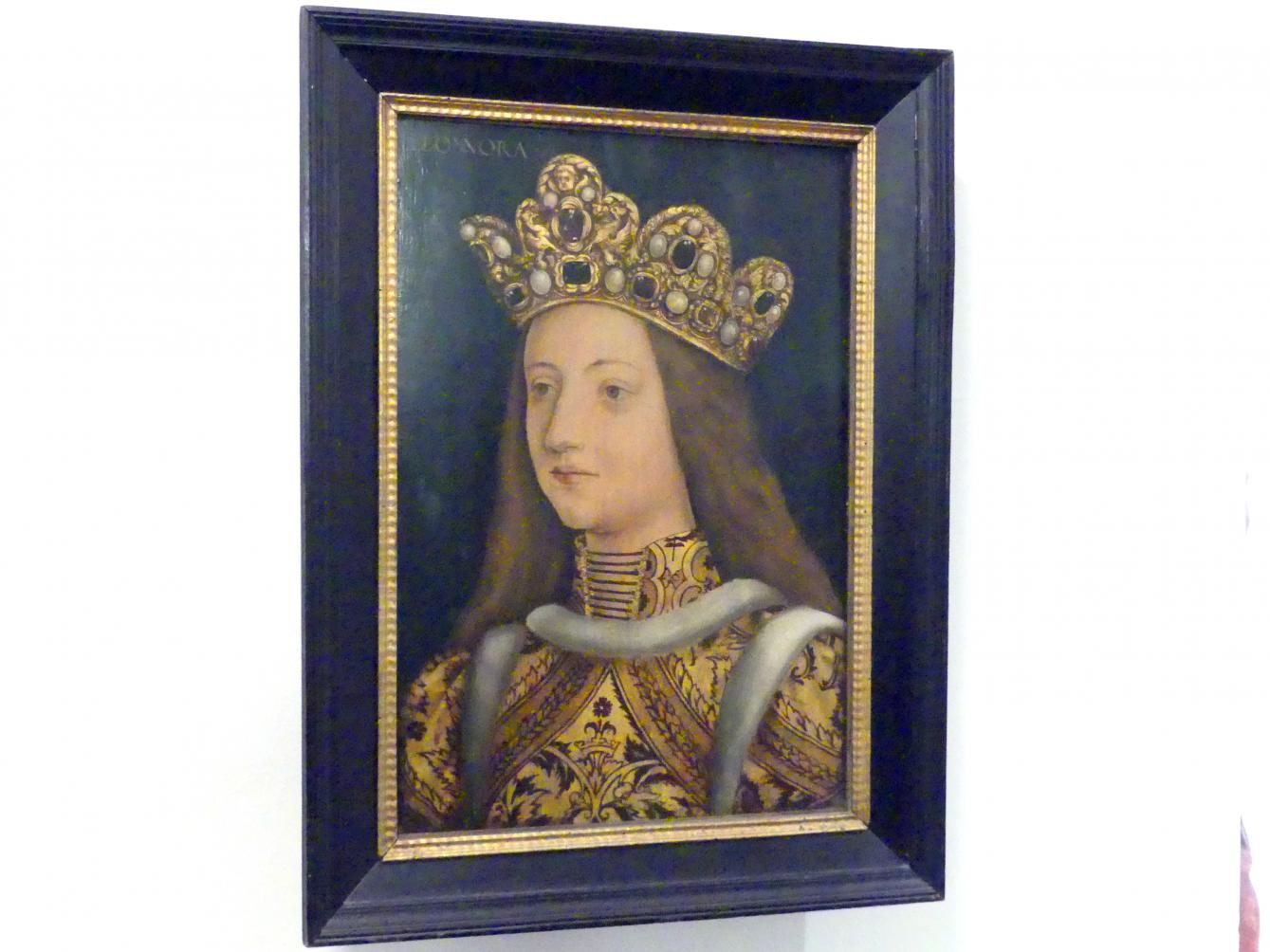Hans Burgkmair der Ältere: Eleonore von Portugal (1436-1467), Um 1510