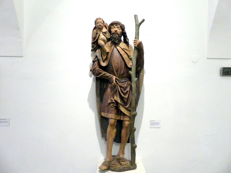 Hl. Christophorus, Ende 15. Jhd.