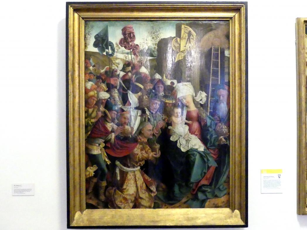 Meister von Mondsee: Anbetung der Könige, Um 1492 - 1499