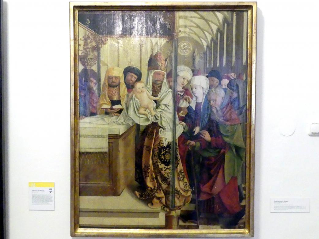 Meister von Mondsee: Darbringung im Tempel, vor 1499