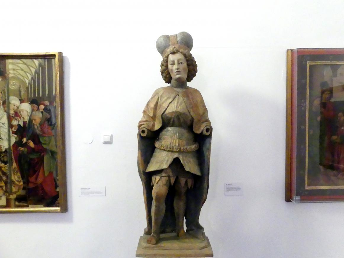 Hl. Wenzel (?), um 1450 - 1460