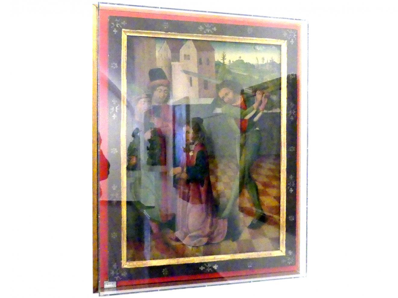 Enthauptung des Hl. Jakobus des Älteren, um 1470