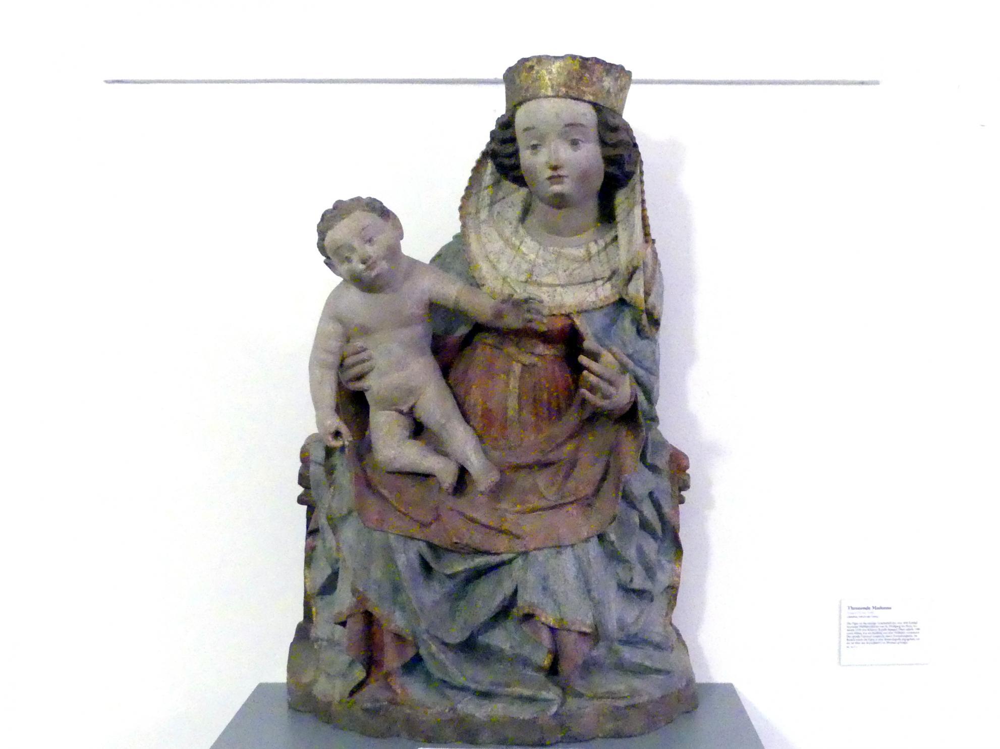 Thronende Madonna, vor 1446