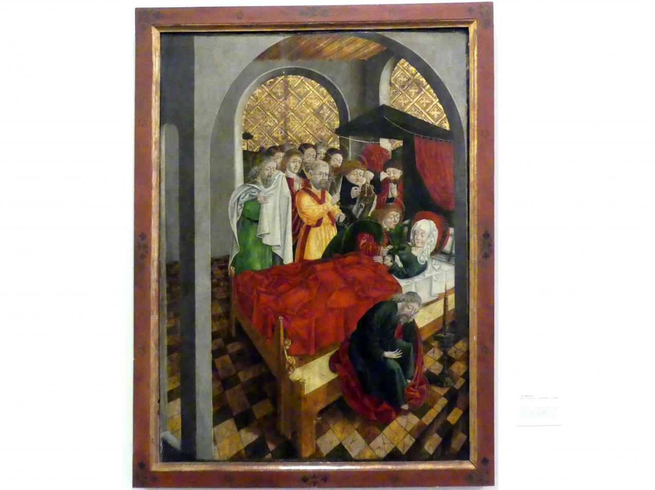 Monogrammist S. H.: Tod Mariens, um 1485