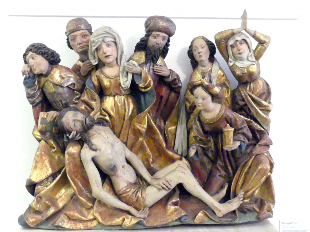 Meister SW: Beweinung Christi, um 1499