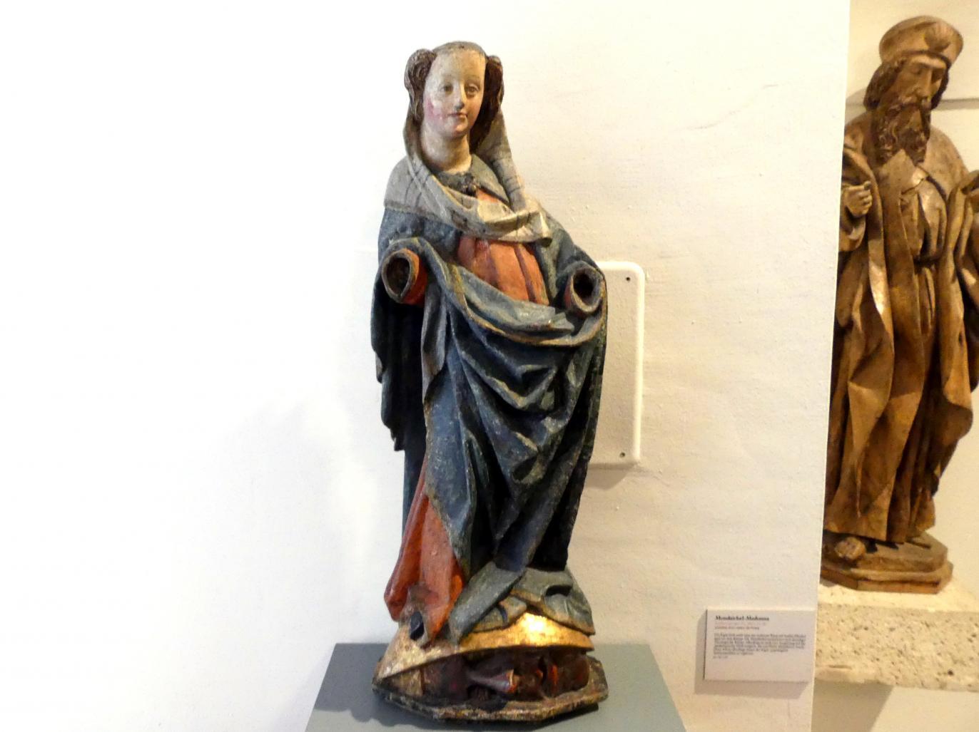 Mondsichel-Madonna, Mitte 15. Jhd.