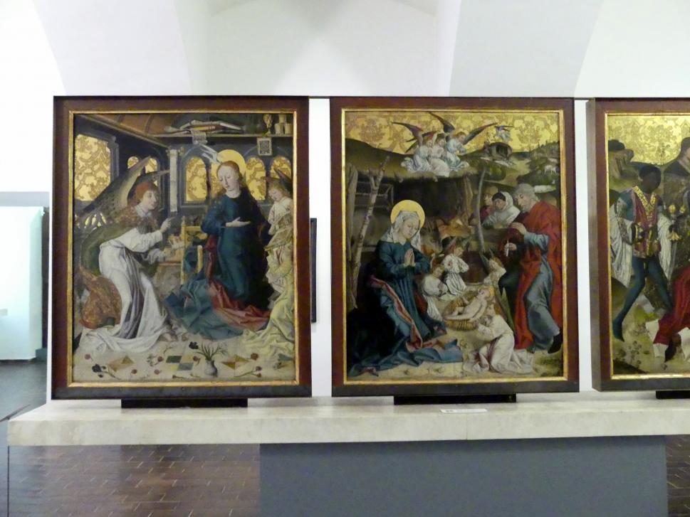 Meister des Eggelsberger Altars: Eggelsberger Altar, 1481