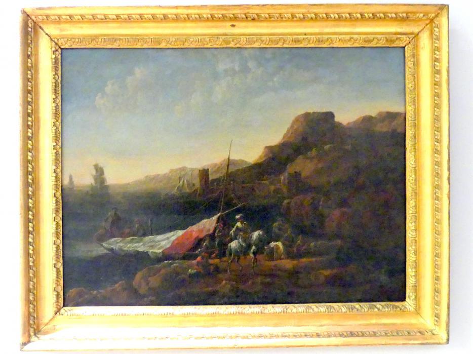 Küstenlandschaft, um 1700
