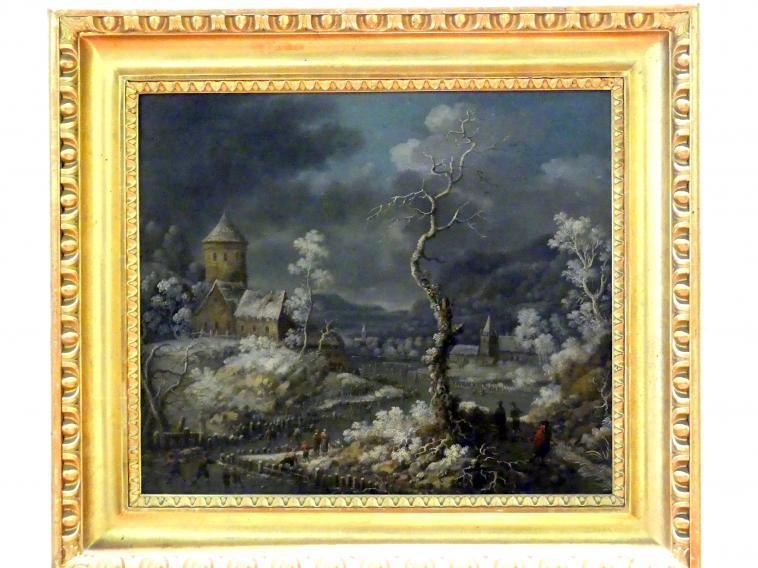 Nicolaes Molenaer: Winterlandschaft, Undatiert