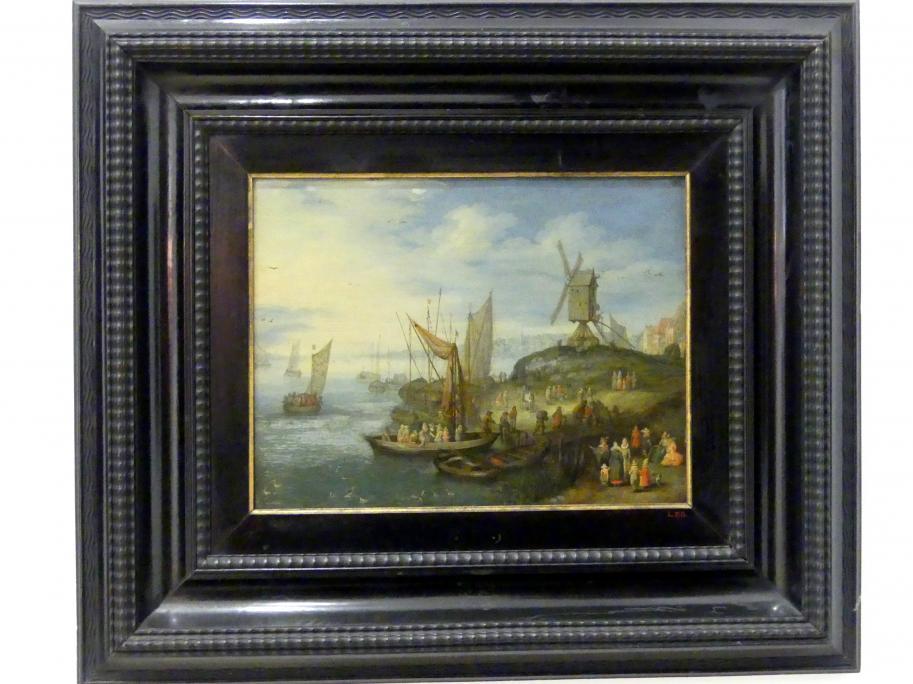 Jan Brueghel der Jüngere: Die Mühle am Landungssteg, Undatiert
