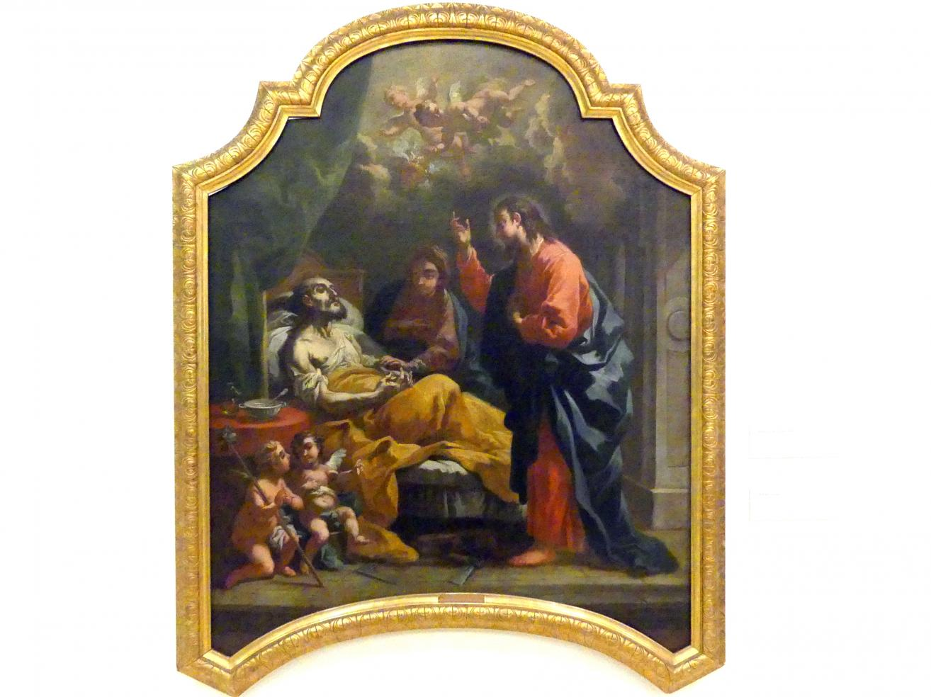 Bartolomeo Altomonte: Tod des hl. Josef, 1748