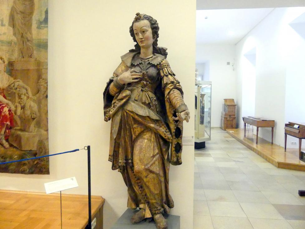 Martin Zürn: Hl. Barbara, Um 1642