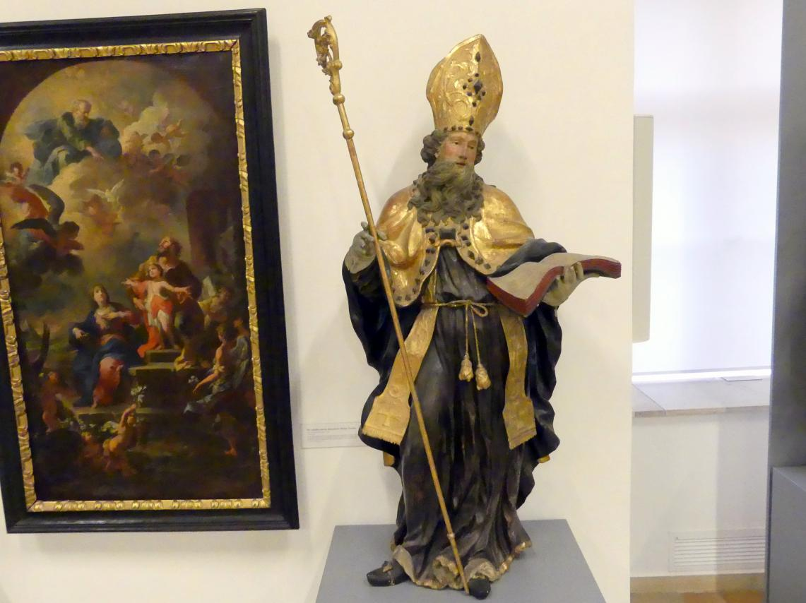 Johann Georg Mohr: Hl. Bischof, Undatiert