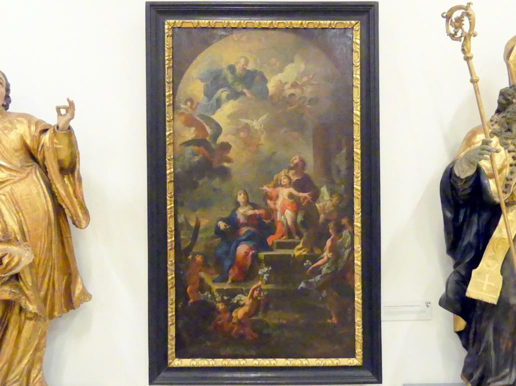 Martino Altomonte: Die irdische und die himmlische Heilige Familie, 1724