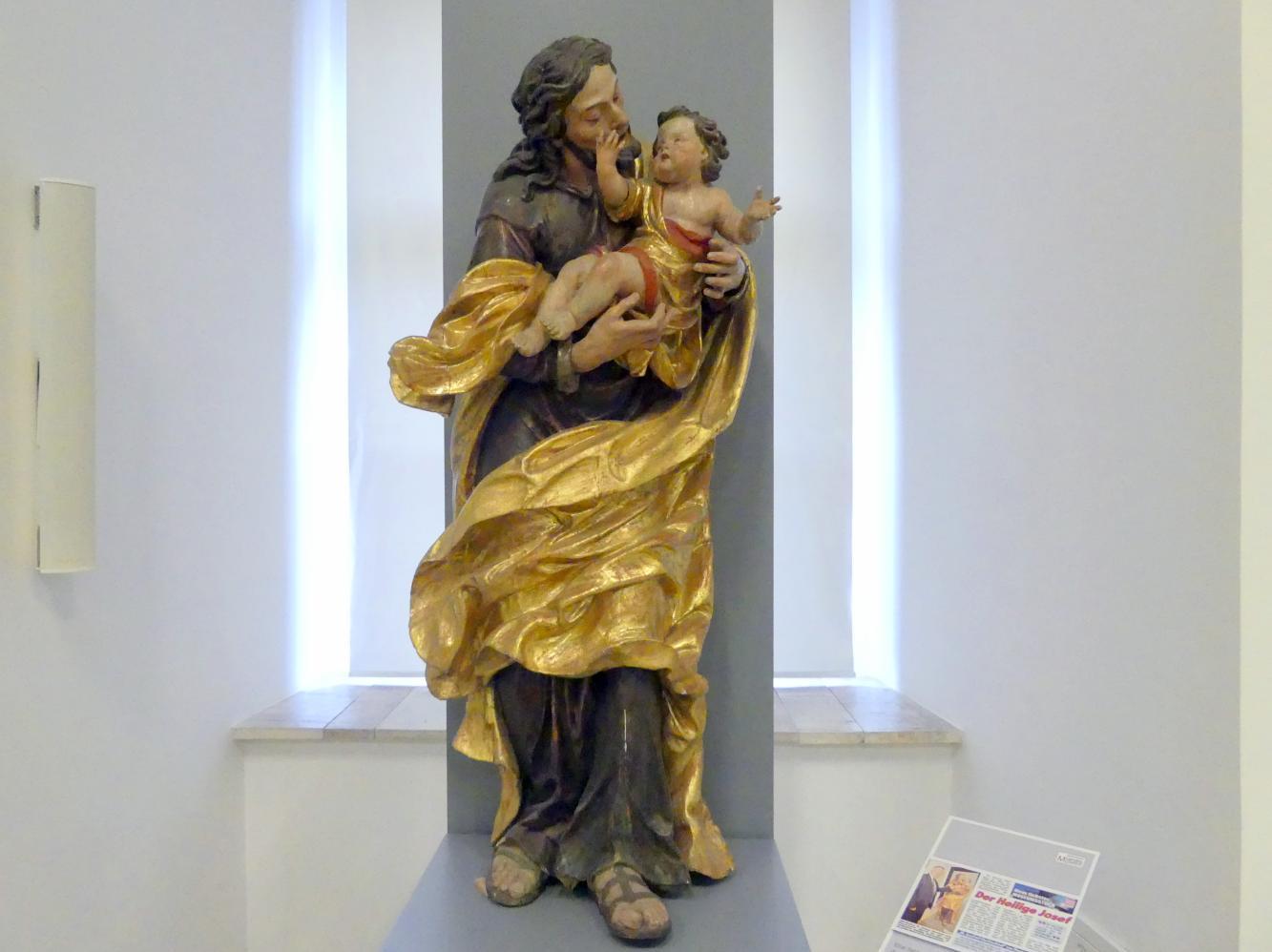 Thomas Schwanthaler: Hl. Josef mit dem Christuskind, Undatiert