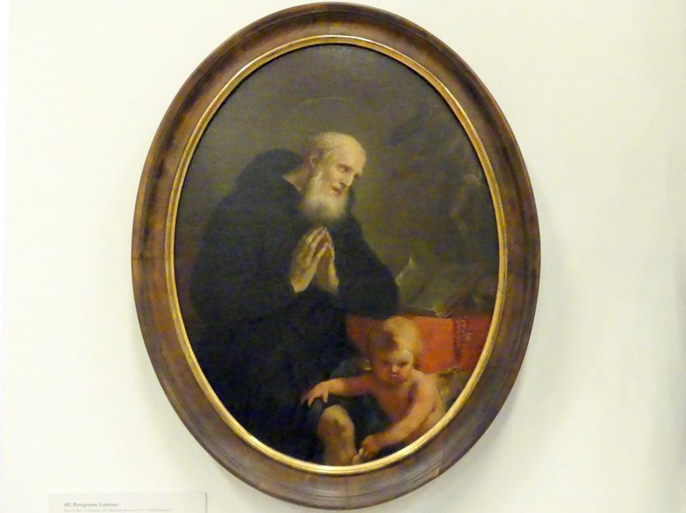 Martin Johann Schmidt (Kremser Schmidt) (Schüler): Hl. Peregrinus Latiosus, 1768